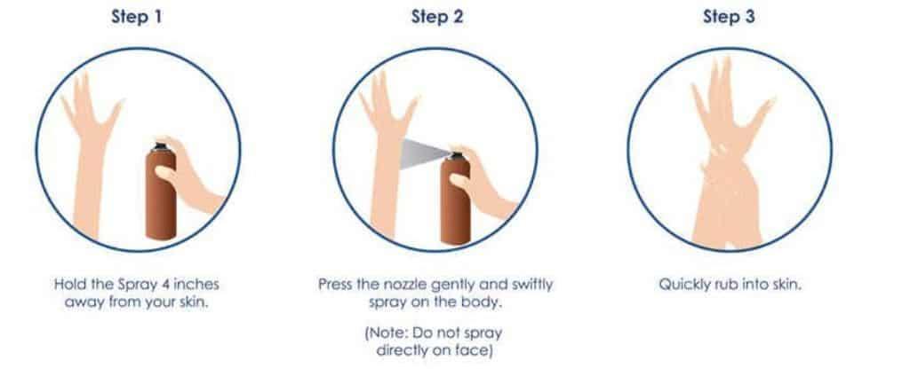 Vaseline Intensive Care Cocoa Radiant Spray Moisturizer Review 5