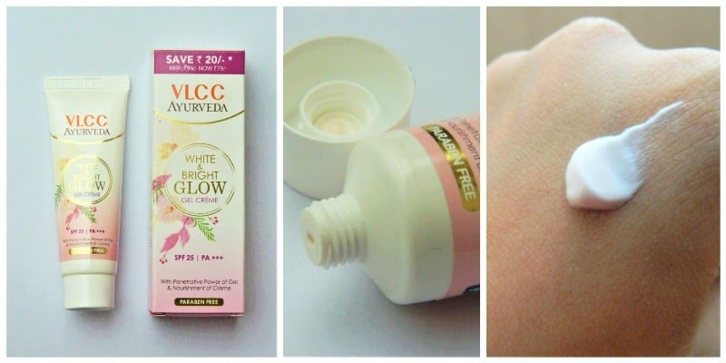Vlcc White And Bright Glow Gel Creme