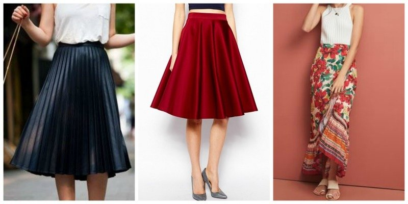 What are Different Types of Skirts?