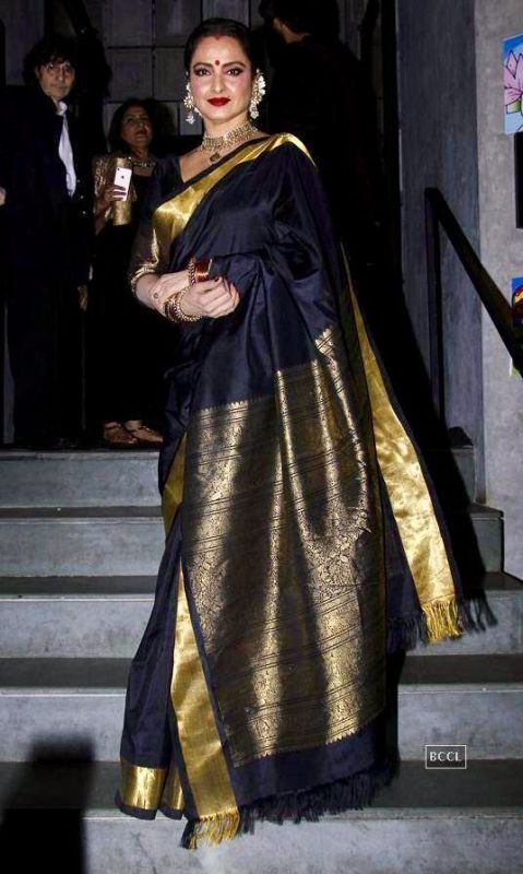 We are Crushing Over These Celebrities in Silk Sarees ! 2