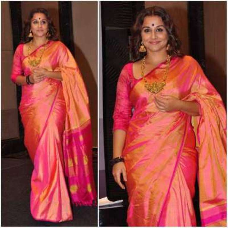 We are Crushing Over These Celebrities in Silk Sarees ! 3