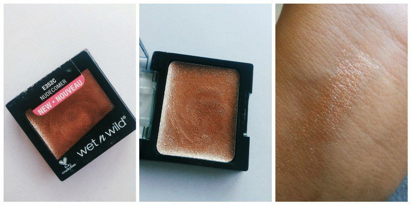 Wet n Wild Color Icon Eyeshadow Nudecomer