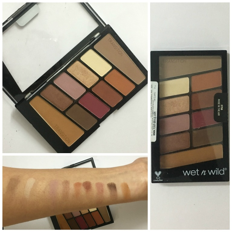 Wet n Wild Color Icon Eyeshadow Palette Rose In The Air