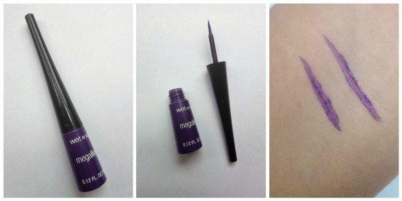 Wet n Wild Megaliner Liquid Eyeliner Electric Purple