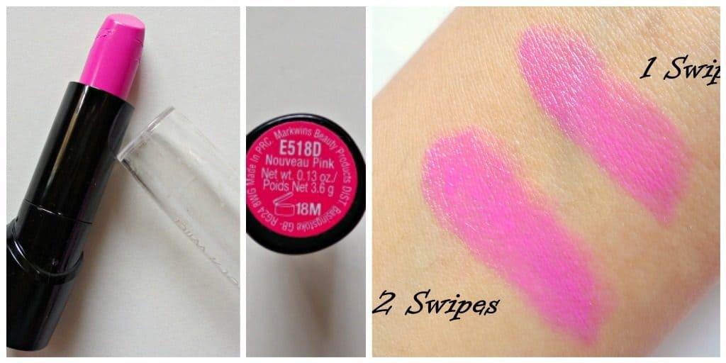 Wet n Wild Silk Finish Lipstick Nouveau Pink