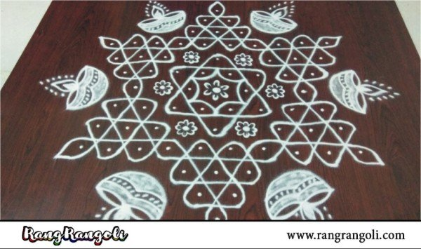 What are Rangoli Designs with Dots