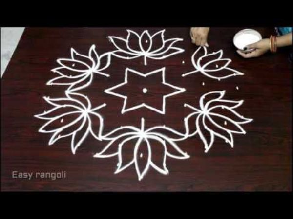 What are Rangoli Designs with Dots 2