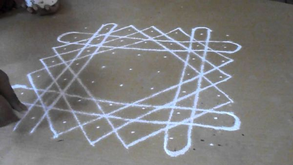 What are Rangoli Designs with Dots 3