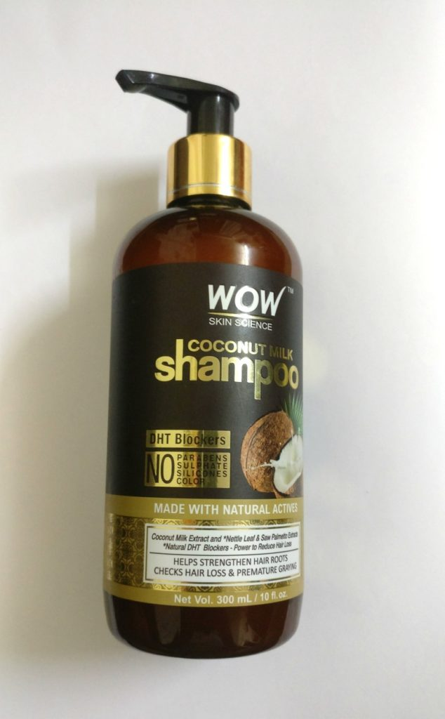 Wow Skin Science Coconut Milk Shampoo