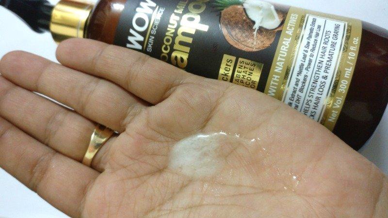 Wow Skin Science Coconut Milk Shampoo 1