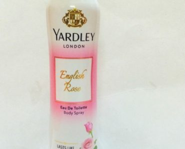 Yardley London English Rose Body Eau De Toilette Body Spray Review 3