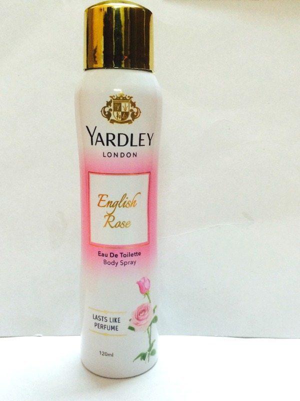 Yardley London English Rose Body Eau De Toilette Body Spray Review 3