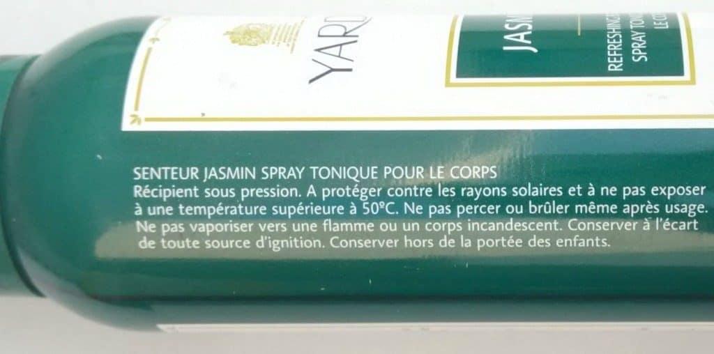 Yardley London Jasmine Refreshing Body Spray Review 5