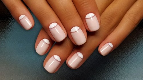 You Will Love these French Manicure Ideas 2019 ! 3