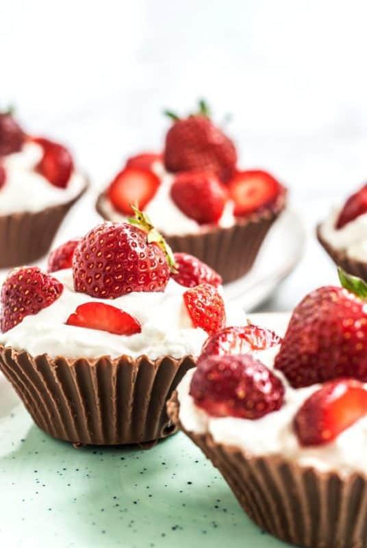 Chocolate Strawberry Cups Recipe