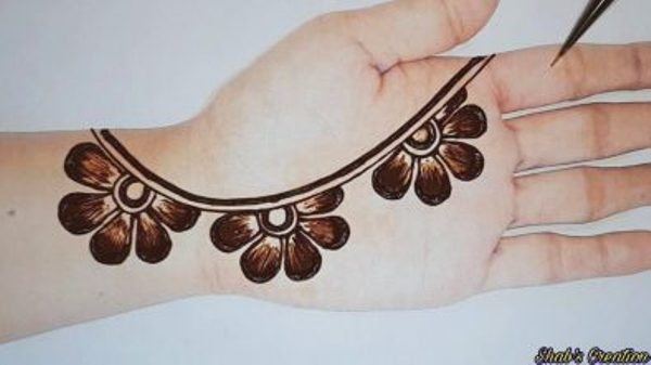 What are some really Easy Mehendi Designs for Girls? 3