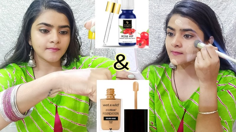 Rosehip Oil + Foundation for Glowing skin
