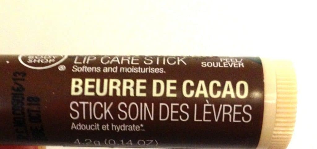 The Body Shop Cocoa Butter Lip Care Stick Review , body shop chapstick 2